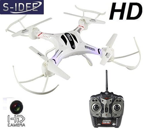 S-idee 01186 S550C - Quadcopter (cámara HD, 4,5 canales)