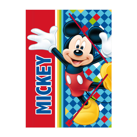 Carpeta Folio Elásticos Mickey Color Diamond