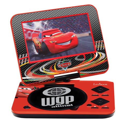 Lector de DVD Portable 7´ Cars