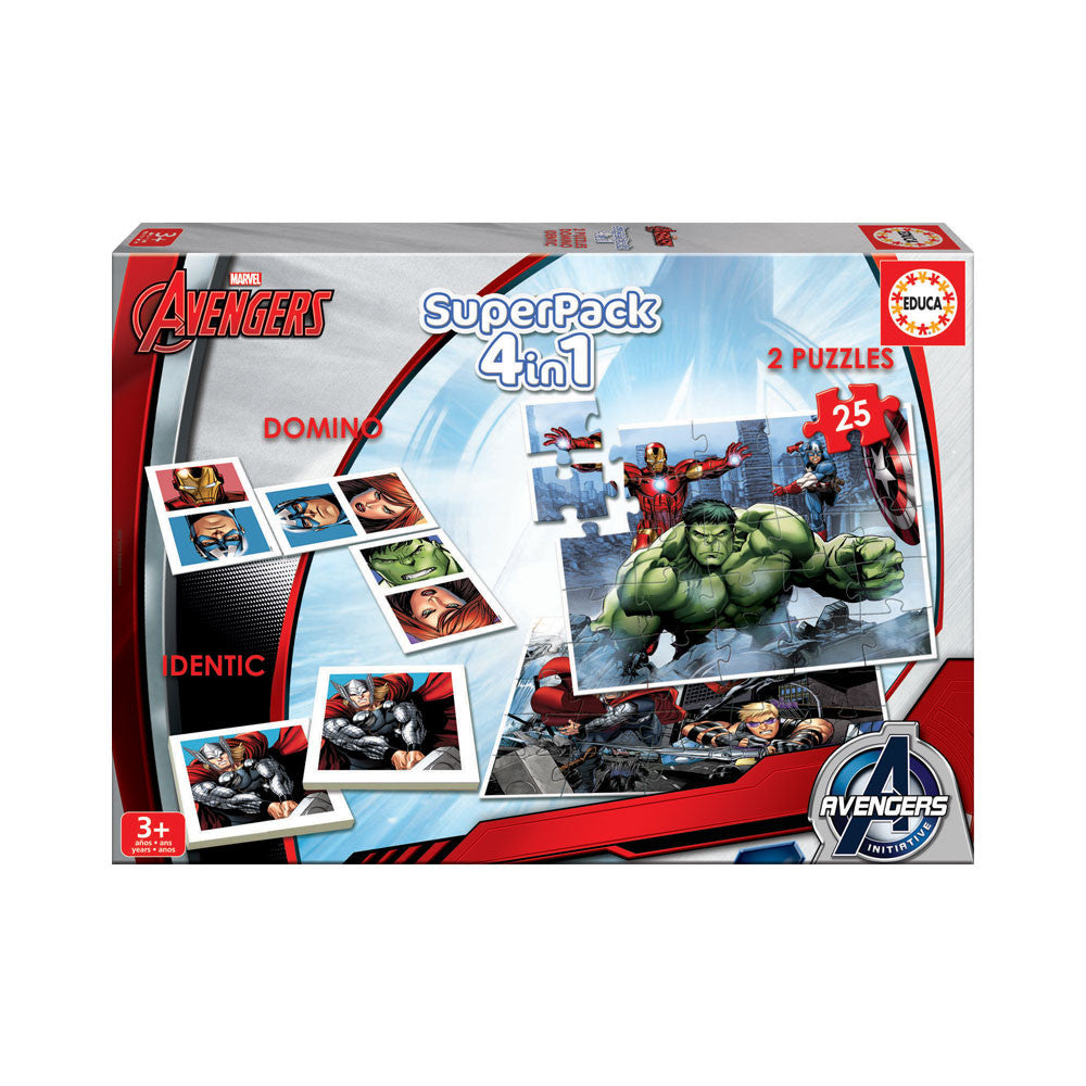Educa Superpack Avengers