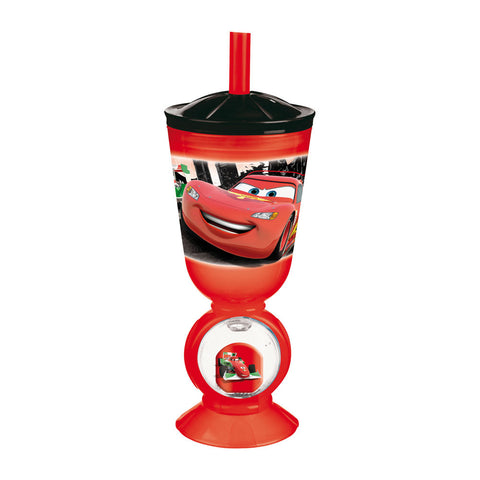 Vaso Divertido Con Pajita Cars 22.5 CL