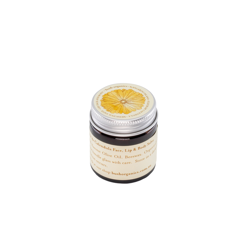 Fleur de Calendula Lip, Face & Body Salve - 30ml