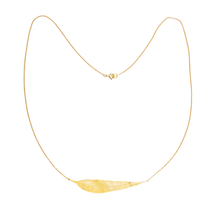 Manna Gum Leaf Necklace