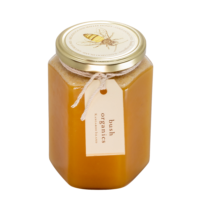 Raw Organic Honey, Melaleuca & Mallee - 1kg