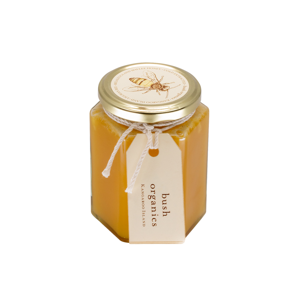 Raw Organic Honey, Melaleuca and Mallee 400ml.  SOLD OUT