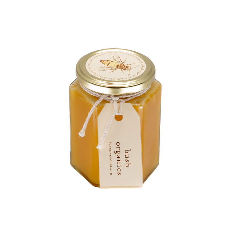 Raw Organic Honey, Melaleuca and Mallee - 400ml