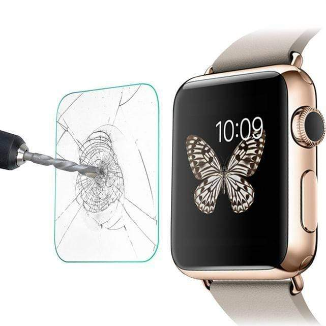AEGIS Tempered Glass for Apple Watch (38mm) - Clear - Case Studio