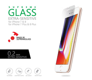 AMAZINGthing SupremeGlass 0.2mm Tempered Glass for iPhone 7/8 (CLEAR) - Case Studio
