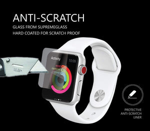 AMAZINGthing SupremeGlass for Apple Watch 42mm - Case Studio