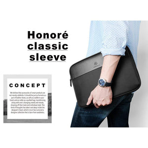 "JT Legend Honore Leather Classic Sleeve for 13"" Laptop - Case Studio"