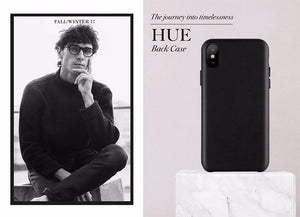 JT Legend HUE Leather Back Case for iPhone X - Case Studio