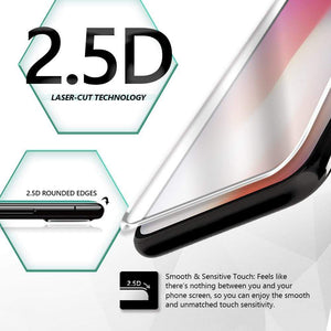 JT Legend Titanguard 2.5D for iPhone X Tempered Glass (Clear) - Case Studio