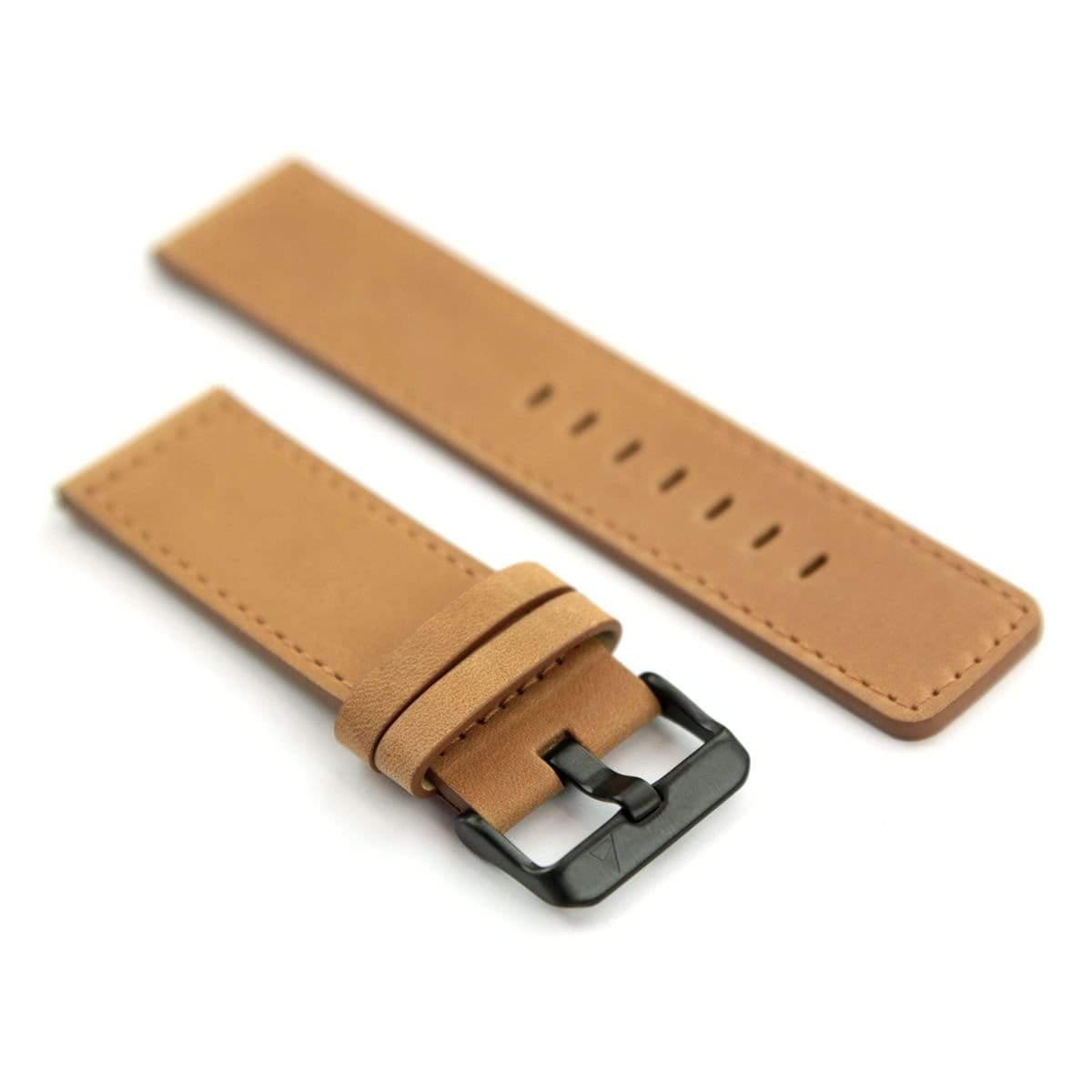 NOMATIC Watch Band Genuine Leather Brown/Black - Case Studio