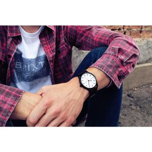 Nomatic Watch - Black / White - Case Studio