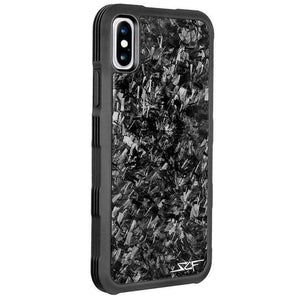 Simply Carbon Fiber Real Carbon Armor Series for iPhone X / XS - Case Studio
