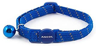 Ancol Softweave Reflective Cat Collar with bell