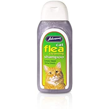JVP Cat Flea Cleansing Shampoo 200ml