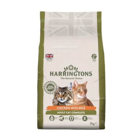 Harringtons Cat Dry Chicken & Rice 2 kg