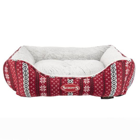 Scruffs Santa Paws Bed Medium