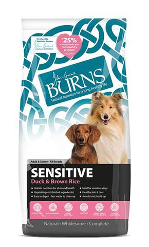 Burns Sensitive Duck & Rice 2kg