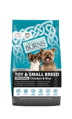 Burns Toy & Small Breed Chicken 2kg