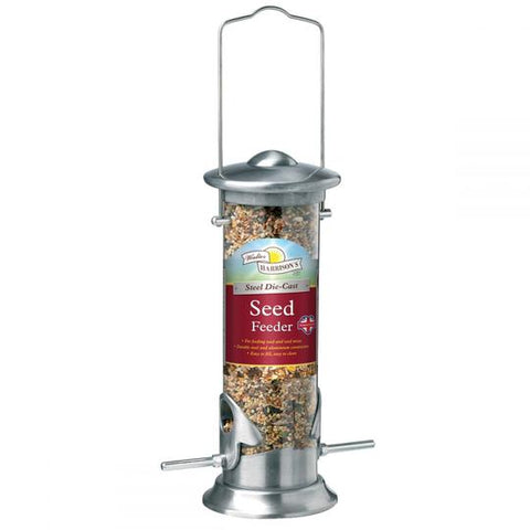 Steel Die Cast Seed Feeder 8""