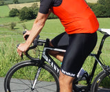 Mens Bib Shorts: Black