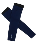 Invani Mens reversible arm warmers blue