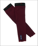 INVANI mens reversible arm warmer burgundy