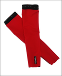 INVANI mens reversible arm warmer red