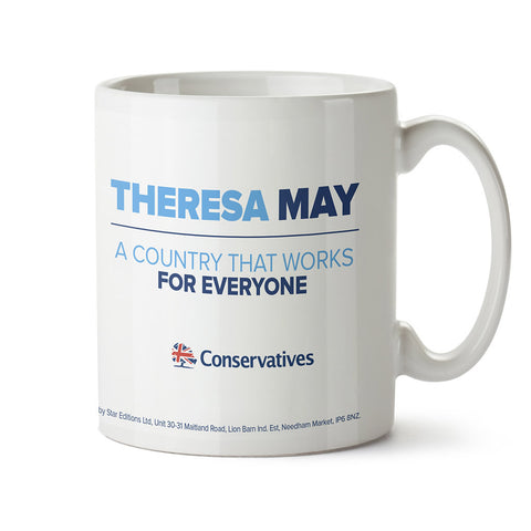 Theresa May - A County That Works For Everyone Limited Edition Mug