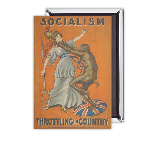 Socialism throttling the country Magnet