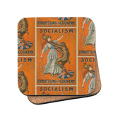 Socialism throttling the country Cork Coaster