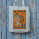 Socialism throttling the country Long Handled Tote Bag (Lifestyle)