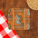 Socialism throttling the country Cork Coaster (Lifestyle)