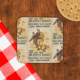 Less beer, less baccy, less employment Cork Coaster (Lifestyle)