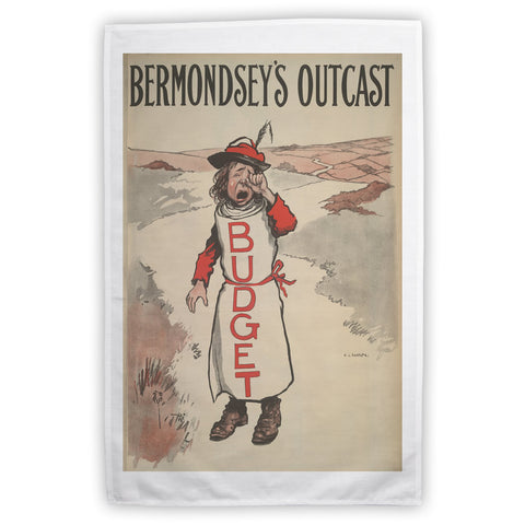 Bermondsey's Outcast Tea Towel