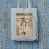 Bermondsey's Outcast Long Handled Tote Bag (Lifestyle)