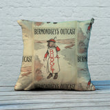 Bermondsey's Outcast Feather Cushion (Lifestyle)