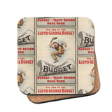 The End of Lloyd George's Budget Cork Coaster