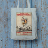 The End of Lloyd George's Budget Long Handled Tote Bag (Lifestyle)