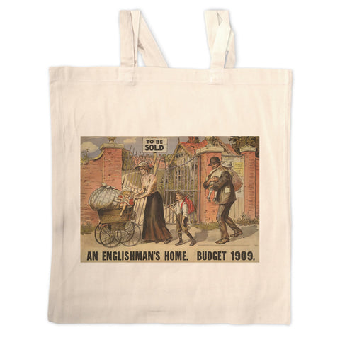 To be sold - an Englishman's Home Long Handled Tote Bag