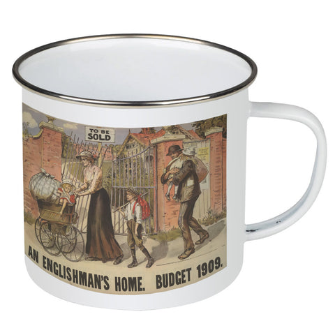 To be sold - an Englishman's Home Enamel Mug