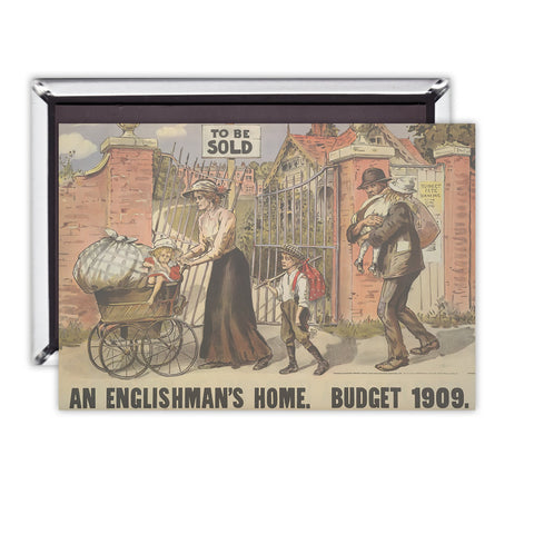 To be sold - an Englishman's Home Magnet