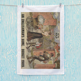 To be sold - an Englishman's Home Tea Towel (Lifestyle)