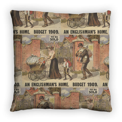 To be sold - an Englishman's Home Feather Cushion