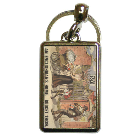 To be sold - an Englishman's Home Metal Keyring