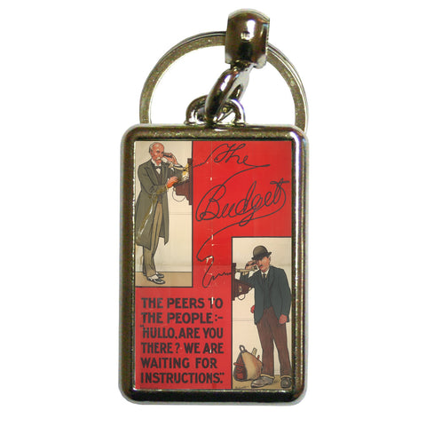 The Peers to the People Metal Keyring