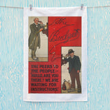 The Peers to the People Tea Towel (Lifestyle)