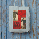 The Peers to the People Long Handled Tote Bag (Lifestyle)